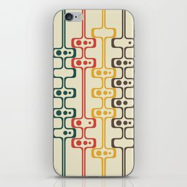 Mid Century Modern Daddy-O (gold) iPhone Skin