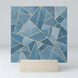 Dusk Blue Stone Mini Art Print