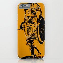 Greek Hoplite - Ancient Warfare iPhone Case