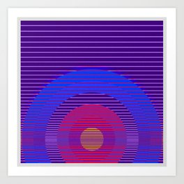 Abstract Offerings .0013 Art Print