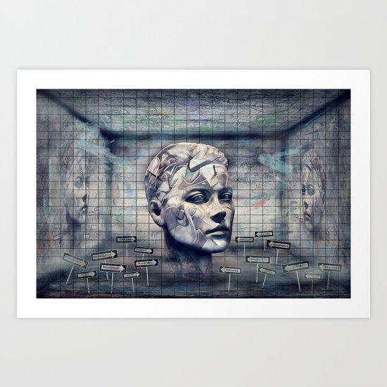 Phasenspektrum Art Print