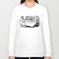 hobbes Long Sleeve T-shirts featuring Chicle. by Samuel Guerrero