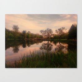 Embrace the Autumn Canvas Print