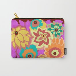 CAMBRIA, ART DECO FLORALS: MOD MADNESS Carry-All Pouch
