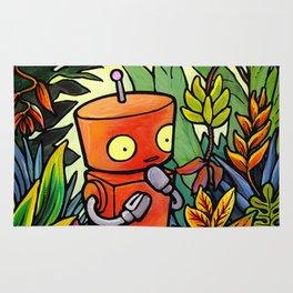 Robot - Take A Semester Abroad Rug