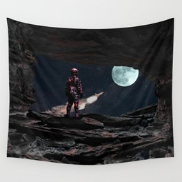 Last Flight Out Wall Tapestry