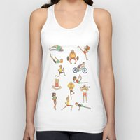 gym Tank Tops featuring Gym Buddies by Sid's Shop