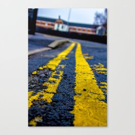 The Journey to University Canvas Print
