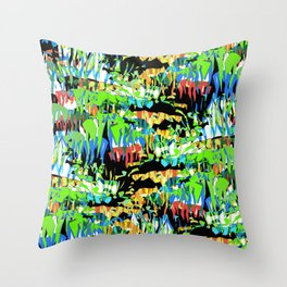 Stalactites II Throw Pillow