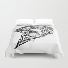 BOUQUET  OF BUTTERFLIES (As inspired by the photography of Courtney Douglas) Duvet Cover