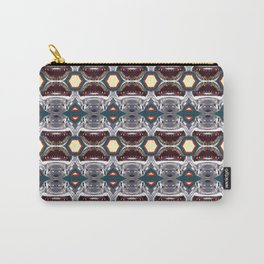 Shark Face Pattern Carry-All Pouch