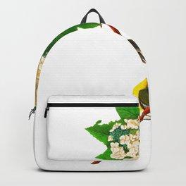 Yellow-throated Vireo Bird Backpack