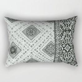 Chamak BW Rectangular Pillow