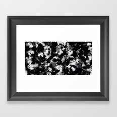 Shades of Gray and Black Oils #1979 Framed Art Print