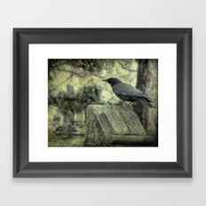 Waiting For The Book Worm Framed Art Print