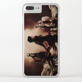 The Queens of Darkness Clear iPhone Case