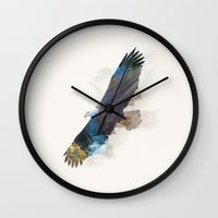 the national Wall Clocks featuring National Icon by John Tibbott