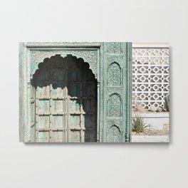 Door to the Desert Metal Print