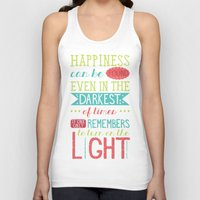 happiness Tank Tops featuring Happiness by Dorothy Leigh