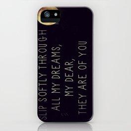 Milo Greene iPhone Case