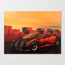 Zonda F Canvas Print