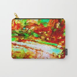 In the Thicket Abstract Carry-All Pouch
