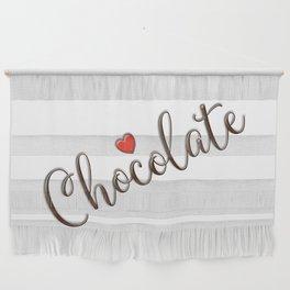 Chocolate Love Wall Hanging