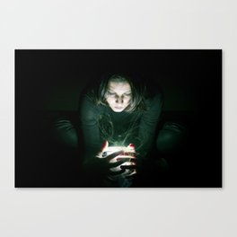 The Guardian of ligth Canvas Print