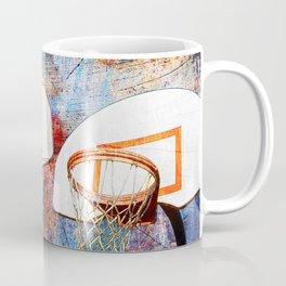 Basketball hoops art Coffee Mug
