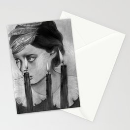 SACRED FLAMES Stationery Cards