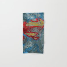 Superman Hand & Bath Towel
