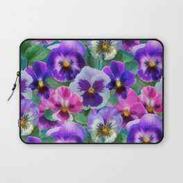 Bouquet of violets I Laptop Sleeve