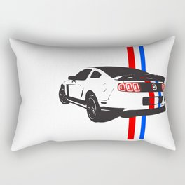 2013 Mustang Rectangular Pillow