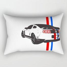 2013 Mustang Rectangular Pillow