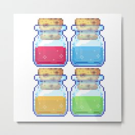 pick ur potion Metal Print