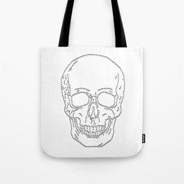 Skull and Crosses Tote Bag