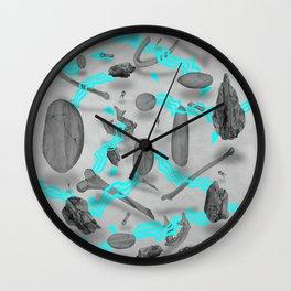 Sinister bones&rocks Wall Clock
