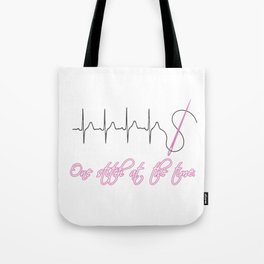 One Stitch at the Time Tote Bag