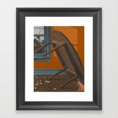 mishap Framed Art Print