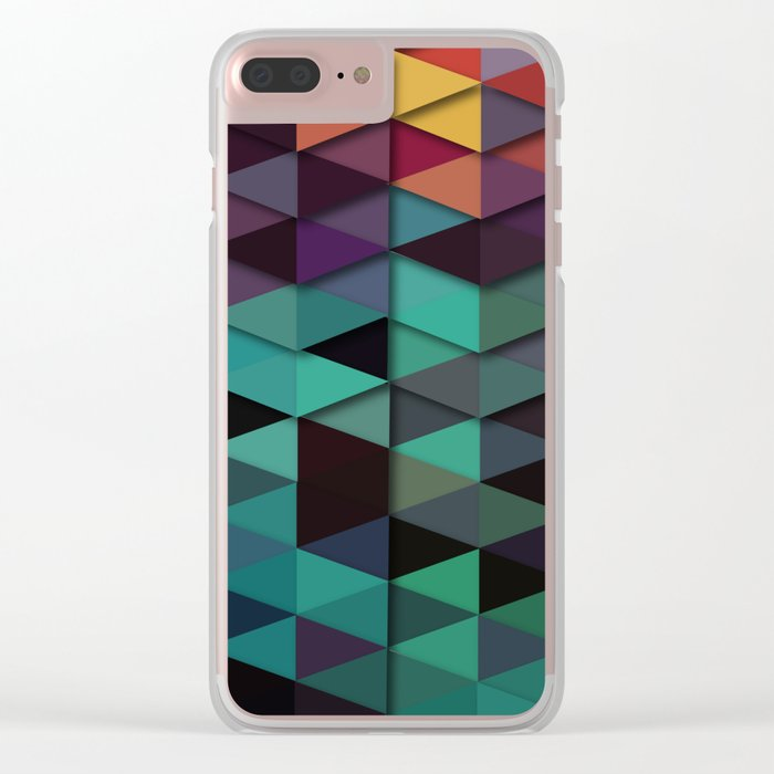 Flames Of Love Clear iPhone Case