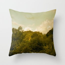 If nature could paint Throw Pillow