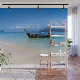 Thailand longboat Wall Mural