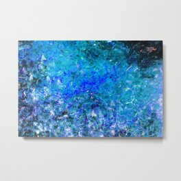 Abstract Water 2 Metal Print