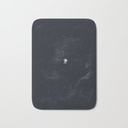 Gravity - Dark Blue Bath Mat