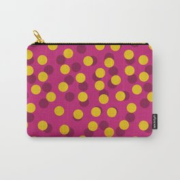 Gold Spotty Dots Carry-All Pouch