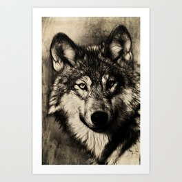 The Gray Art Print