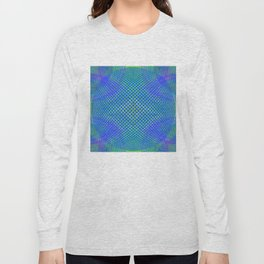 Blue Balls Bubble Long Sleeve T-shirt