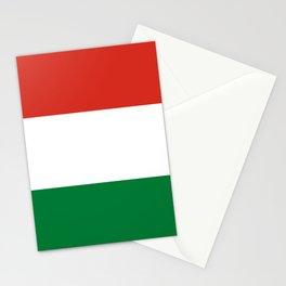 Flag: Hungary Stationery Cards