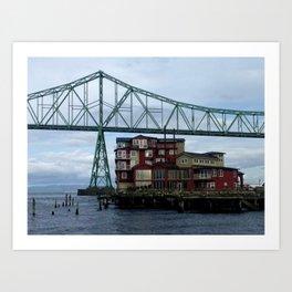 Cannery Pier Art Print