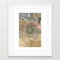 maps Framed Art Prints featuring maps by INEPTUNE